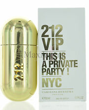 212 VIP by Carolina Herrera for Women EDP 1.7 OZ 50 ML Spray