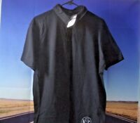 Polo Shirt Men LG Black Jack Daniels Old No. 7 Casual Short Sleeve  Authentic O1
