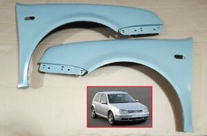 VW GOLF MK4 1998-2003 FRONT WINGS LEFT AND  RIGHT PRIMED BRAND NEW