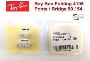 Ray Ban RB 4105 Folding Wayfarer Ricambio Ponte 50/54 Replacement Bridge Puente