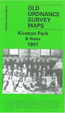 Old Ordnance Survey Map Kiveton Park & Wales 1901