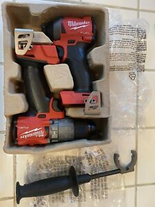 Milwaukee M18 FUEL Hammer Drill & 1/4in Impact Drill