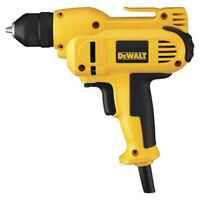 DEWALT 3/8 in. 8 Amp VSR Mid-Handle Drill Kit DWD115KR Certified Refurbished