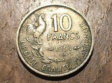 PIECE DE 10 FRANCS GUIRAUD 1951 B (188)