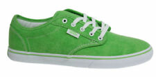 Scarpe da ginnastica Verde VANS tela per donna