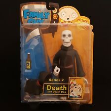 MEZCO FAMILY GUY S2 DEATH AND DEATH DOG NO HOOD VARIANT ACTION FIGURE BRAND NEW