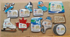 2010 VANCOUVER McDONALD OFFICAL RESTAURANT OLYMPIC 10 PIN SET