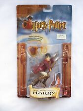 Sealed Mattel 2002 Harry Potter COS SEEKER HARRY QUIDDITCH Action Figure NIP