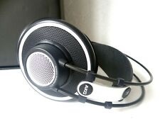 AKG K702 REFERENCE STUDIO MONITOR OPEN BACK OVER EAR DYNAMIC HEADPHONES