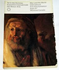 Expo 67 Montreal Official Fine Arts Exhibition book; ill'd trade paperback