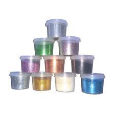 GLITTER IN POLVERE per pittura con resistenza chimica ai solventi e all'acqua GR