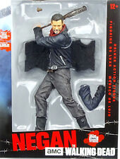 "NEGAN DELUXE ACTIONFIGUR 10"" / 25cm FIGUR THE WALKING DEAD McFARLANE TOYS NEU"