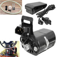 220V 180W 0.9A Black Domestic Household Sewing Machine Motor With Controller