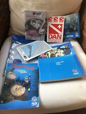 Dive Crew Padi Manual Recreational Planner Instruction Log Scuba Pouch