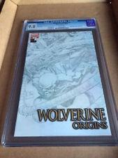 WOLVERINE ORIGINS #7 SKETCH COVER CGC9.8 HIGHEST GRADED COPY