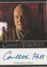 "Game of Thrones Season 1 - Conleth Hill ""Lord Varys"" Auto / Autograph Card"