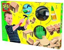 SES Kreativset Werkzeugset Spielzeug Basteln und Malen Kinder-Bastelsets