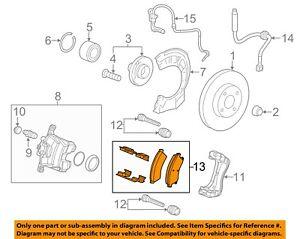 Chevrolet GM OEM 12-17 Sonic Brake-Front Pads 42570931