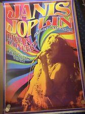 Janis Joplin Concert- 61 cm x 91.5 cm Poster