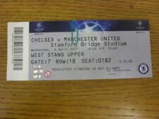 06/04/2011 Ticket: Chelsea v Manchester United [UEFA Champions League] . Bobfran