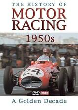 A HISTORY OF MOTOR RACING - 1950'S: A GOLDEN DECADE USED - VERY GOOD DVD
