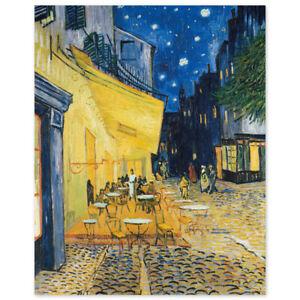 Vincent van Gogh, Caféterrasse am Abend, Terrasse du café le soir Terrace Cafe