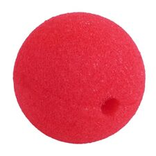1pc Red Ball Foam Circus Clown Nose Comic Party Halloween Costume Dress GH