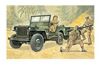 Italeri 314 - 1/35 US Willys Jeep with Trailer - New