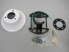 FLUSH MOUNT KIT W/ CANOPY, MOUNTING BRACKETS/SCREWS, & RUBBER PADS #:PS-3022-WH