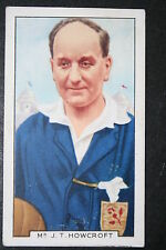 Jack Howcroft Fa Cup Final Referee Vintage 1930's Card