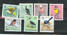 UCCELLI - BIRDS AUSTRALIA 1964 Common Stamps