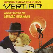 SUEURS FROIDES (VERTIGO) - MUSIQUE DE FILM - BERNARD HERRMANN (CD)
