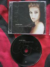 CELINE DION  - LET'S TALK ABOUT LOVE.  EAN: 5099748915924. CD 1997. 16 Tracks.