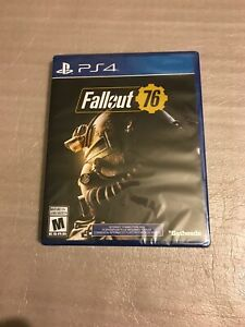 Fallout 76 (PS4, Sony Playstation, 2018) (Brand New)