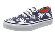 Vans Authentic Navy and White pattern trainers boys or girls unisex UK CHILD 12