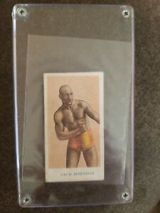 Jack Johnson 1910 American Caramel Prize Fighters