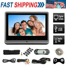 10.1'' Car Headrest Monitor DVD Player USB/SD/HDMI/FM/Game TFT LCD Touch-Screen