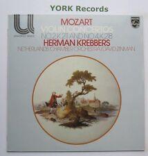 6580 120 - MOZART - Violin Concertos No 2 & 4 KREBBERS / ZINMAN - Ex LP Record