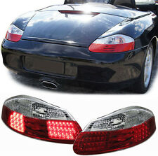 CLEAR LED REAR TAIL LIGHTS FOR PORSCHE BOXSTER 986 1996-2004 MODEL NICE GIFT