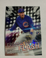 2020 TOPPS CHROME NICO HOERNER RC FRESHMAN FLASH REFRACTOR CUBS