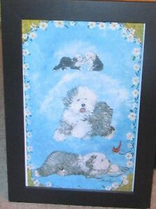 OES ARTIST BARBARA WOOD CHEERY, WHIMSICAL POSTER