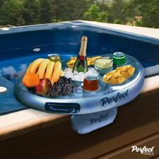 "Official ""Perfect Pools"" Spa Bar Inflatable Hot Tub Side Tray for Drinks/Snacks"