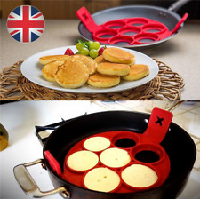 Flipping Fantastic NonStick Pancake Maker Silicone Cooking Mould Egg Omelette UK