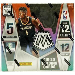2019-20 Panini Mosaic Tmall NBA Basketball Sealed Box Silver Prizm Gold Wave Red