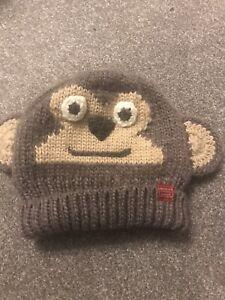 Joules Junior Boys Monkey Hat
