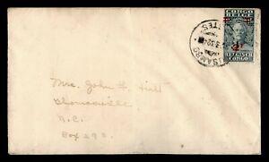 DR WHO 1932 BELGIUM CONGO OVPT USAMBO TO USA  g09764