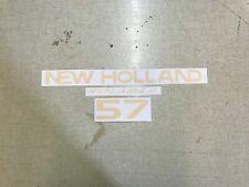 New Holland 57 Hay Rake Decals
