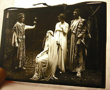 Plate photo antique pièce de theatre and c players 1920 13cm X 9cm photography