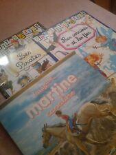 Lot Livres pour enfants : livres autocollants sur les Fées et Pirates et Martine