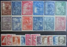 ALLIED OCCUPATION 1947-49 Collection of 23 m/h